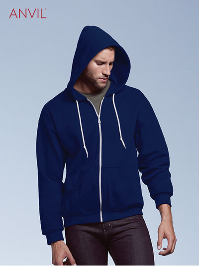 71600 Adult Full-Zip Hooded Fleece