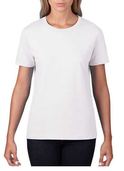 880 Women's Lightweight Tee - White